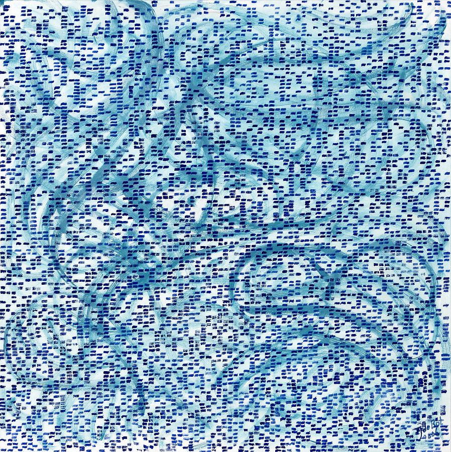 Aqua Minerale Painting by Joan De Bot