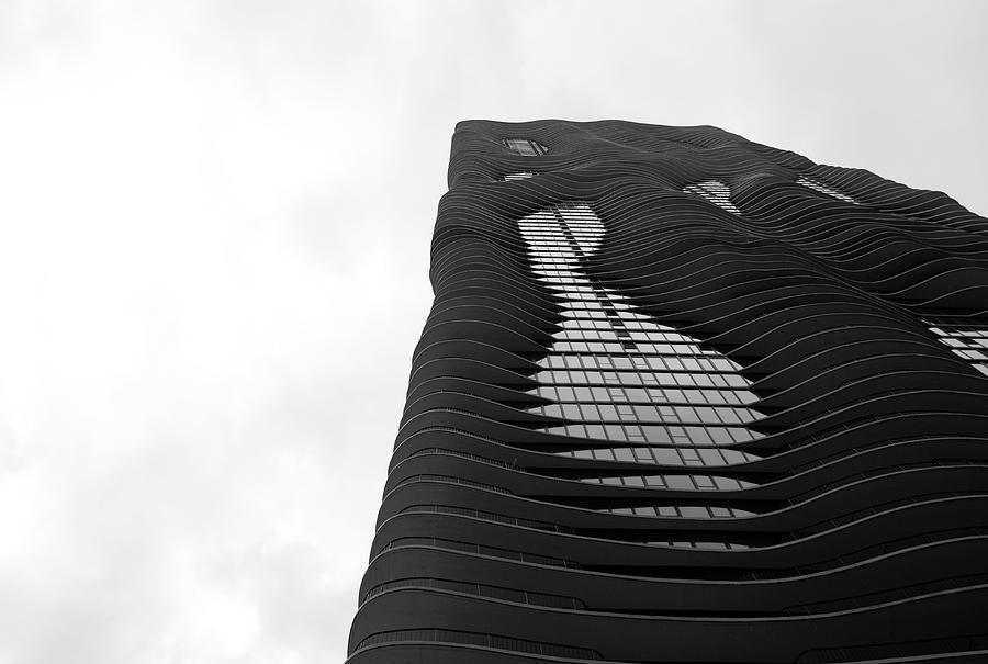 Aqua Tower Photograph