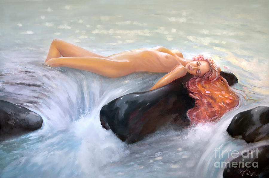 AQUAMARINE Sea Goddess by Michael Rock