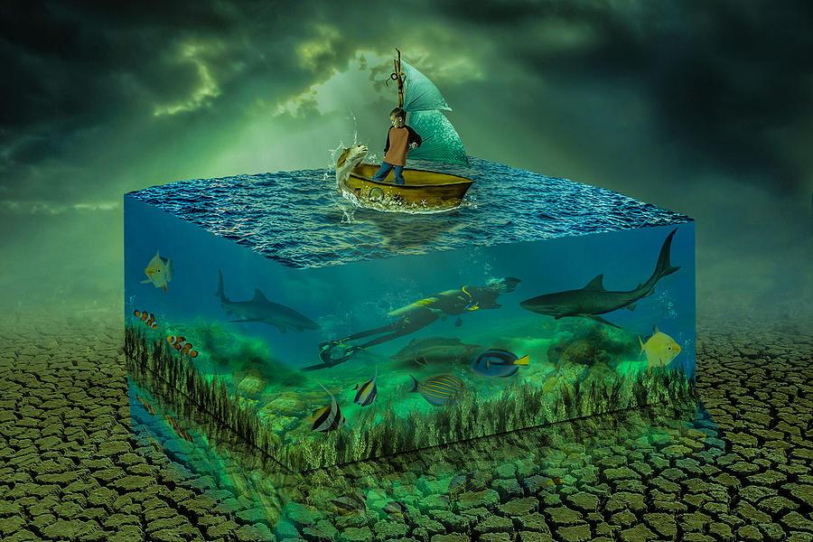 Aquatic Life Digital Art