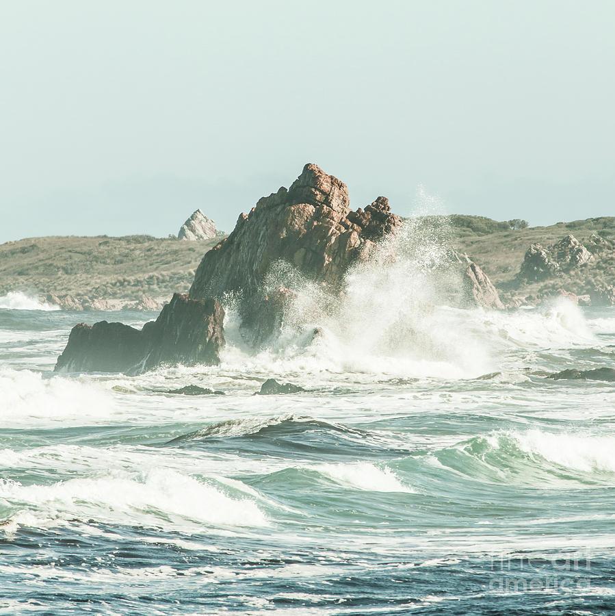 Nature Photograph - Aquatic Spray by Jorgo Photography - Wall Art Gallery