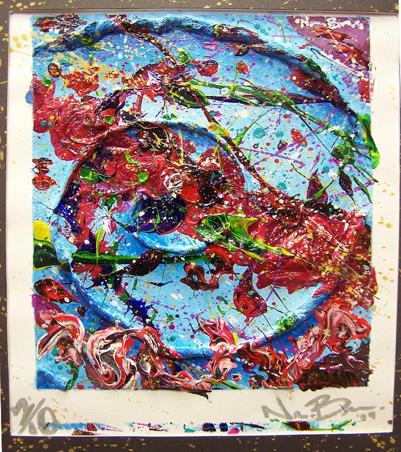 Acrylic Painting - Aquatica by Nino  B