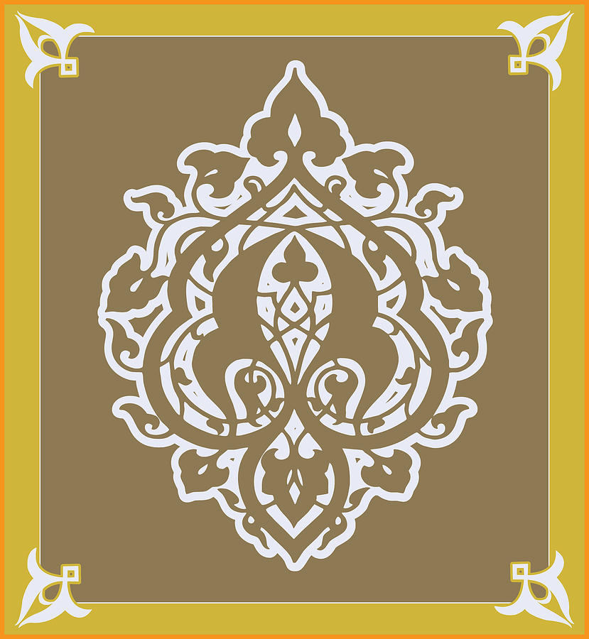 Arabesque design digital art by scheme of things for Arabesque style decoration