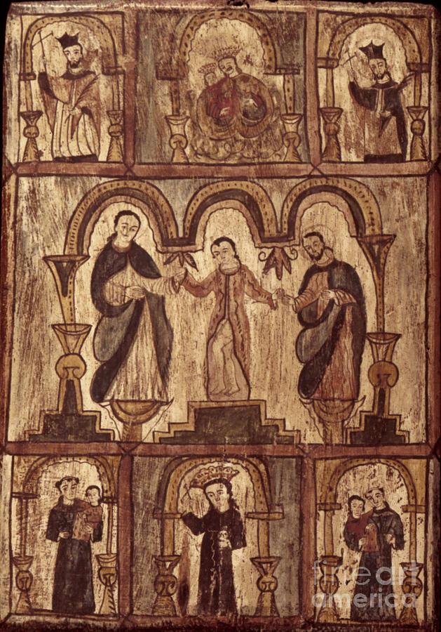 1820s Photograph - Aragon: Jesus & Disciples by Granger