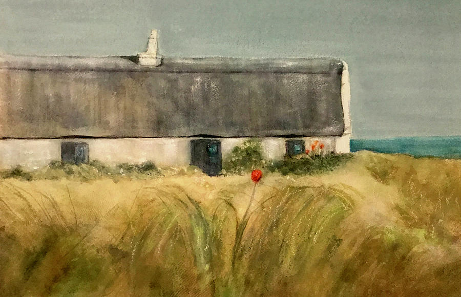 Aran Islands Cottage, Ireland by Elise Ritter