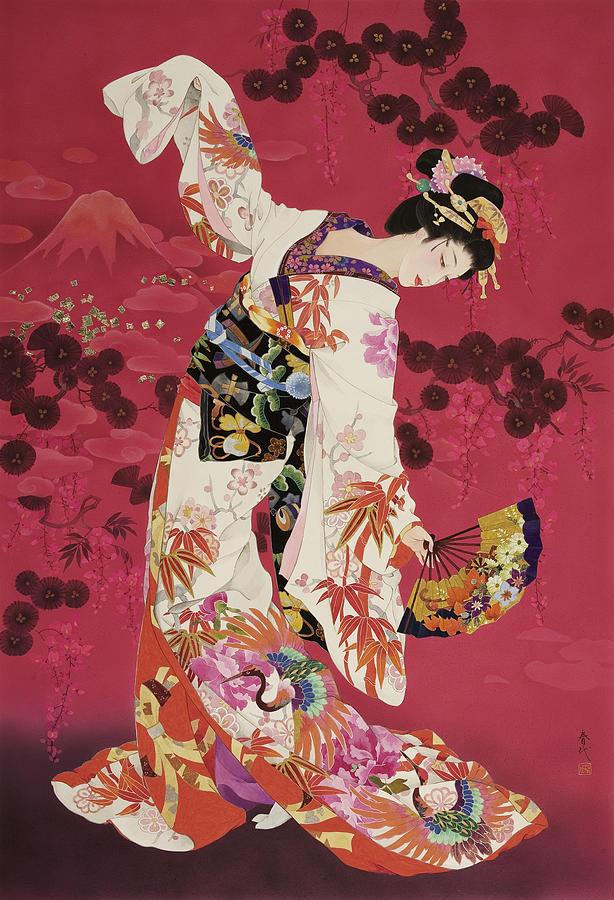 Aratama Painting By Haruyo Morita