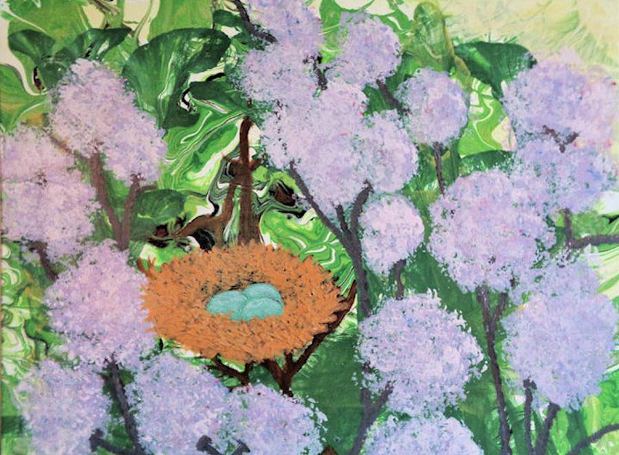 Botanical Painting - Arboreal Abundance by Diana Robbins