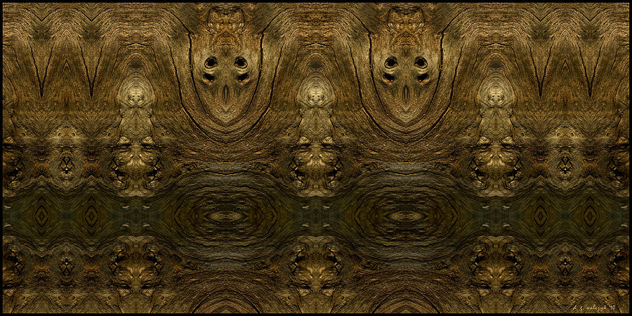 Tree Photograph - Arboreal Kachinas II by Daniel G Walczyk