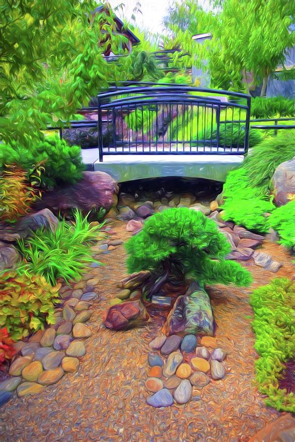 Arboretum Stream Garden by Ginger Wakem