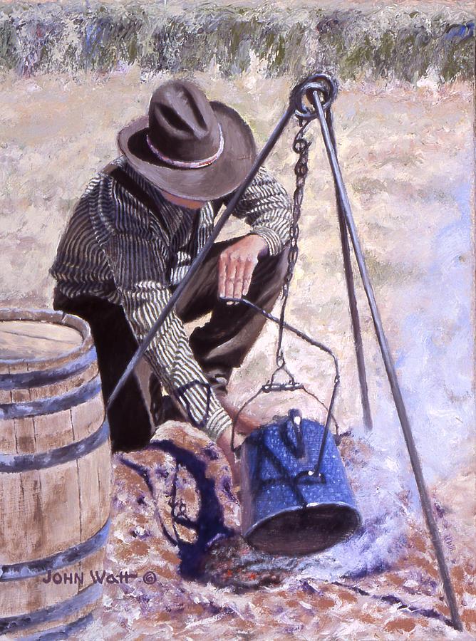 Arbuck Painting by John Watt