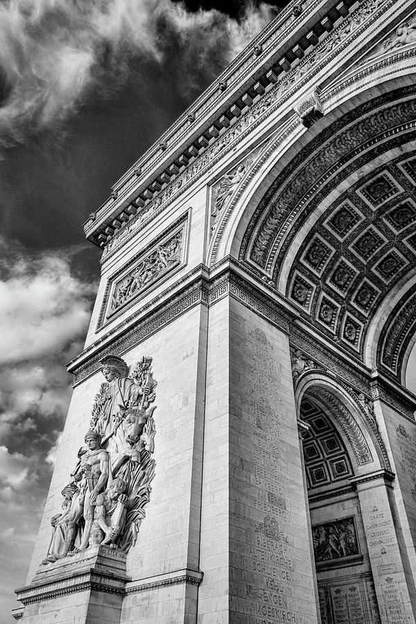 Arc De Triomphe Photograph - Arc De Triomphe - #1 by Stephen Stookey