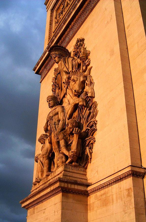 Europe Photograph - Arc De Triomphe by Juergen Weiss