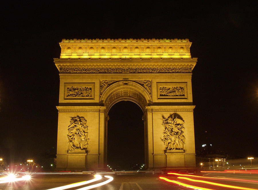 Arc Photograph - Arc De Triomphe by Mark Currier