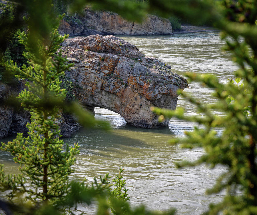 Bridge Photograph - Arch in Canada by Crewdson Photography