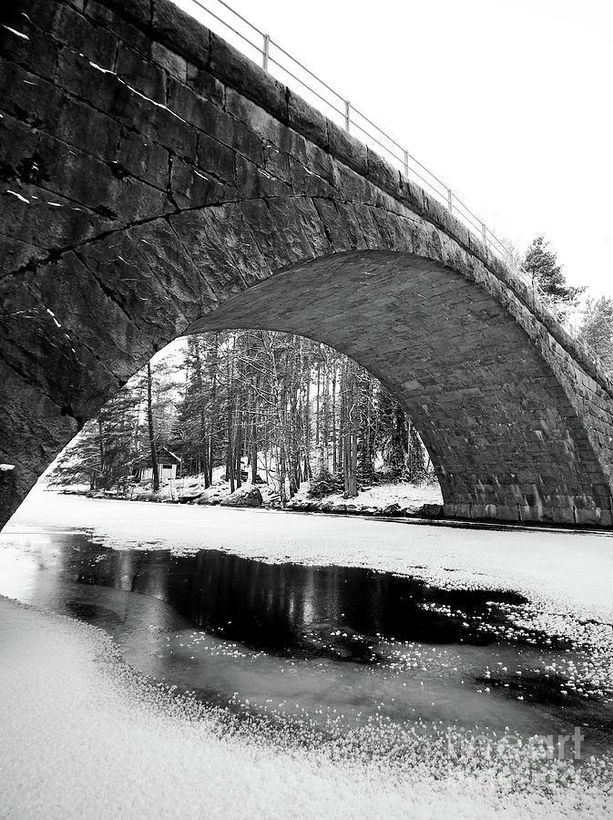 Bridge Photograph - Arch by Tapio Koivula