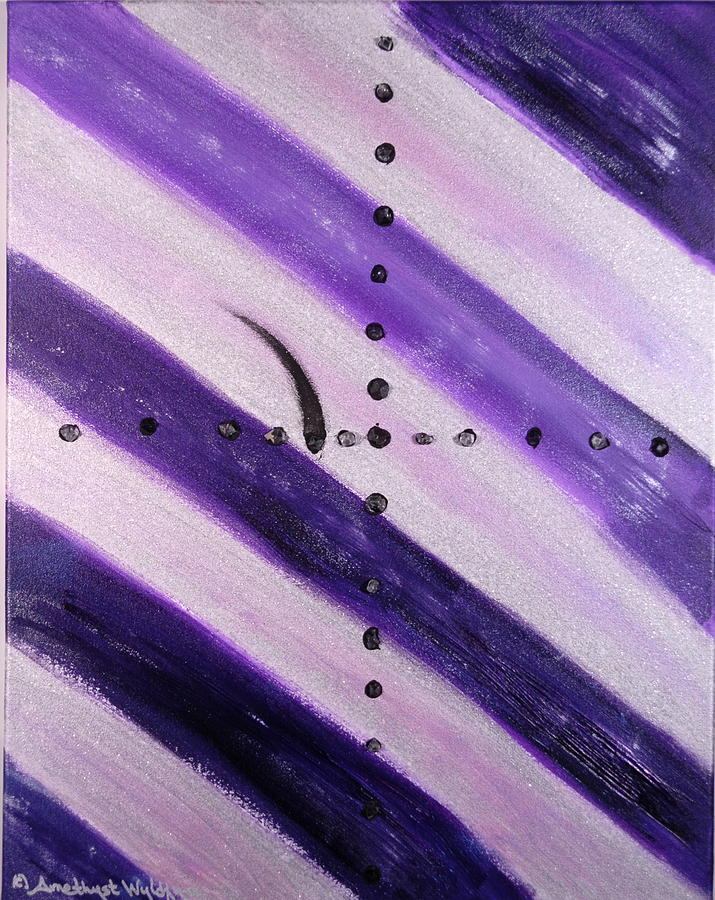 Angels Painting - Archangel Raguel by Emerald GreenForest