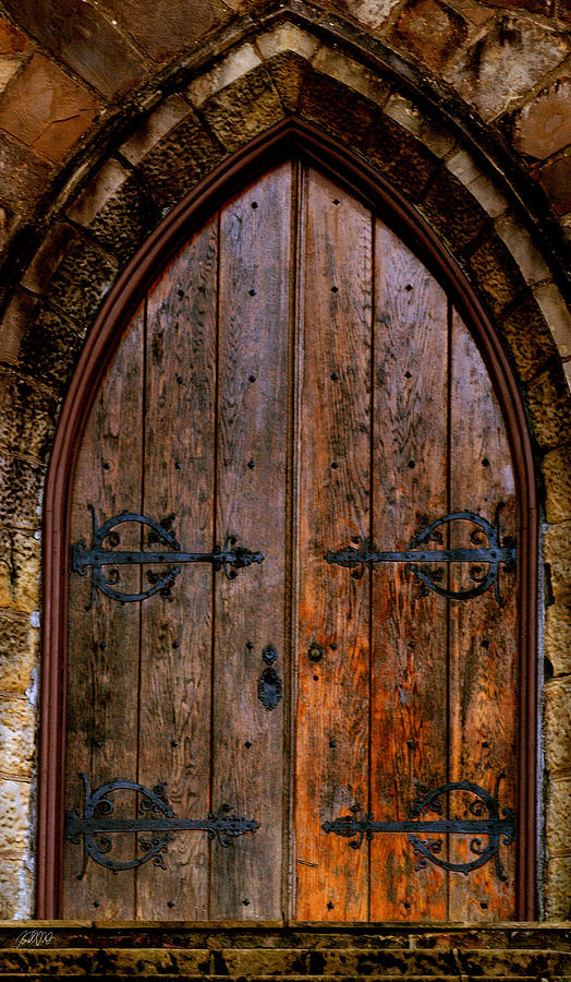 Church Photograph - Arched Doorway by Jason Blalock