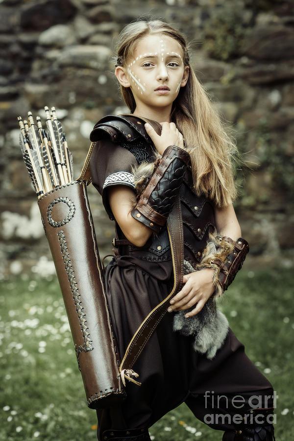 Got Photograph - Archer Warrior by Amanda Elwell