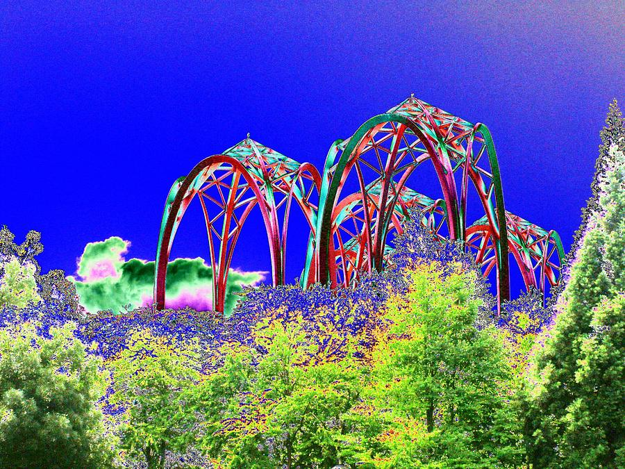 Seattle Photograph - Arches 6 by Tim Allen