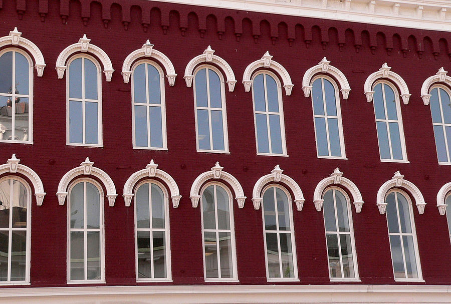 Arched Windows Photograph - Arches by David Bearden