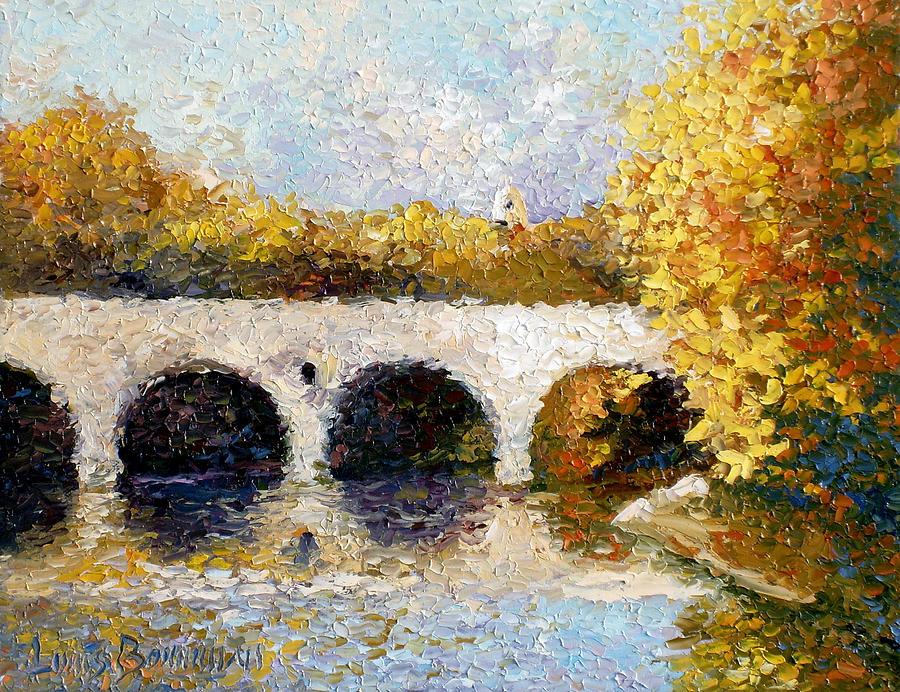 Landscape Painting - Arches by Lewis Bowman