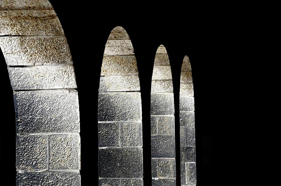 Cohen Photograph - Arches Per Israel by Deb Cohen