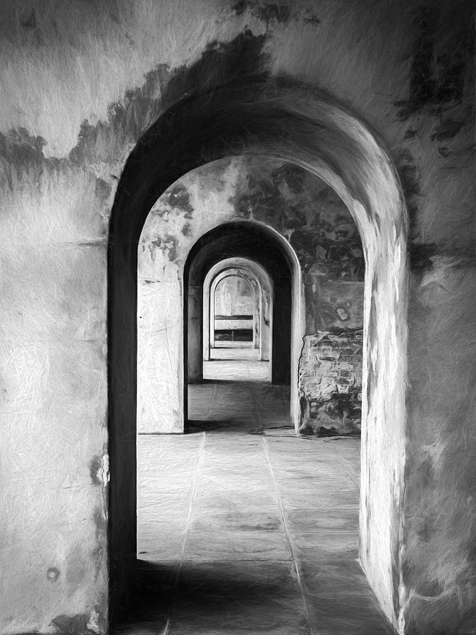 Arches Photograph - Arches by Trevor Wintle