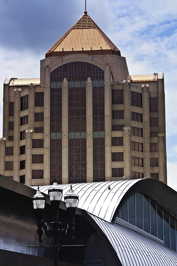 Architecture Photograph - Architectural Differences Roanoke Virginia by Teresa Mucha