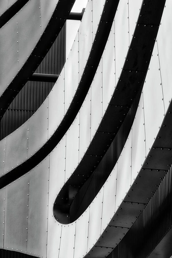 Architectural Flow 09 by Mark David Gerson