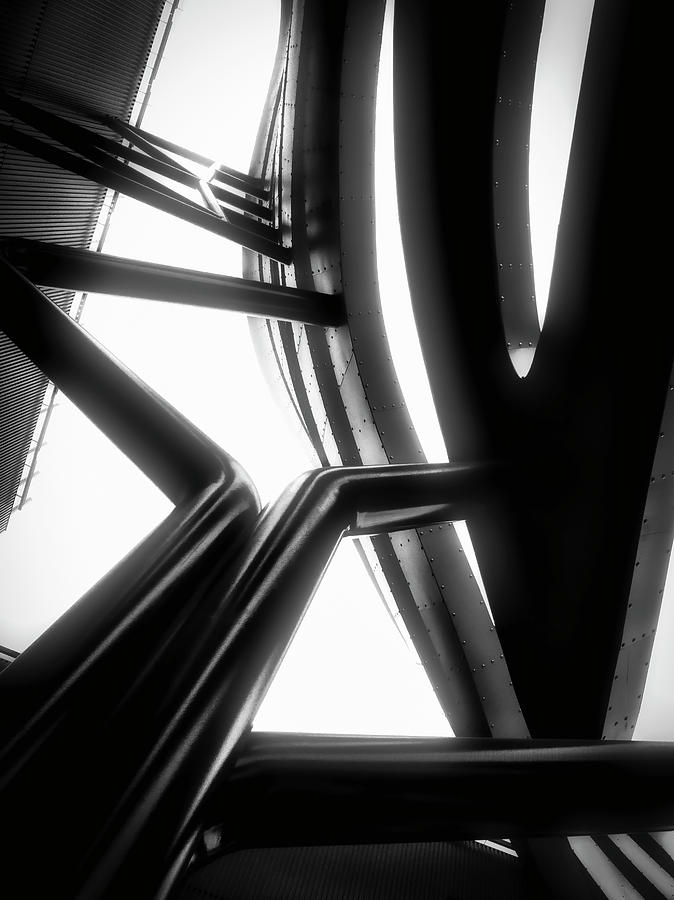 Architectural Flow 03 by Mark David Gerson