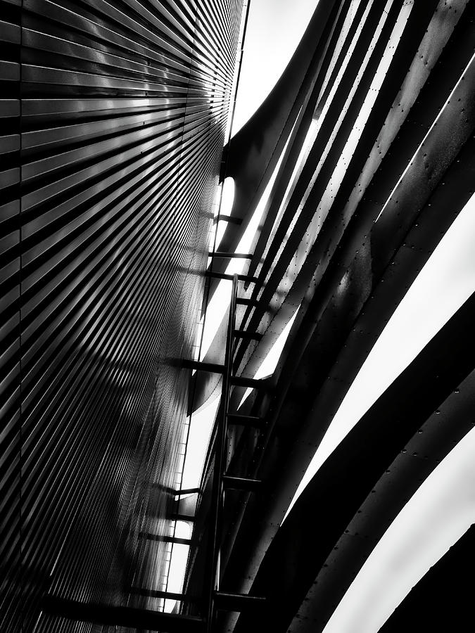 Architectural Flow 05 by Mark David Gerson