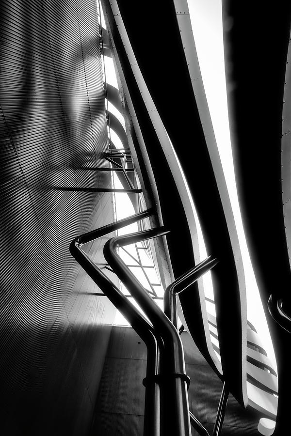 Architectural Flow 07 by Mark David Gerson
