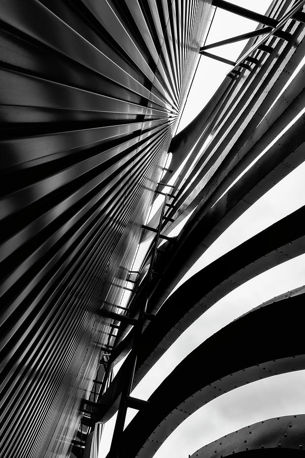 Architectural Flow 08 by Mark David Gerson
