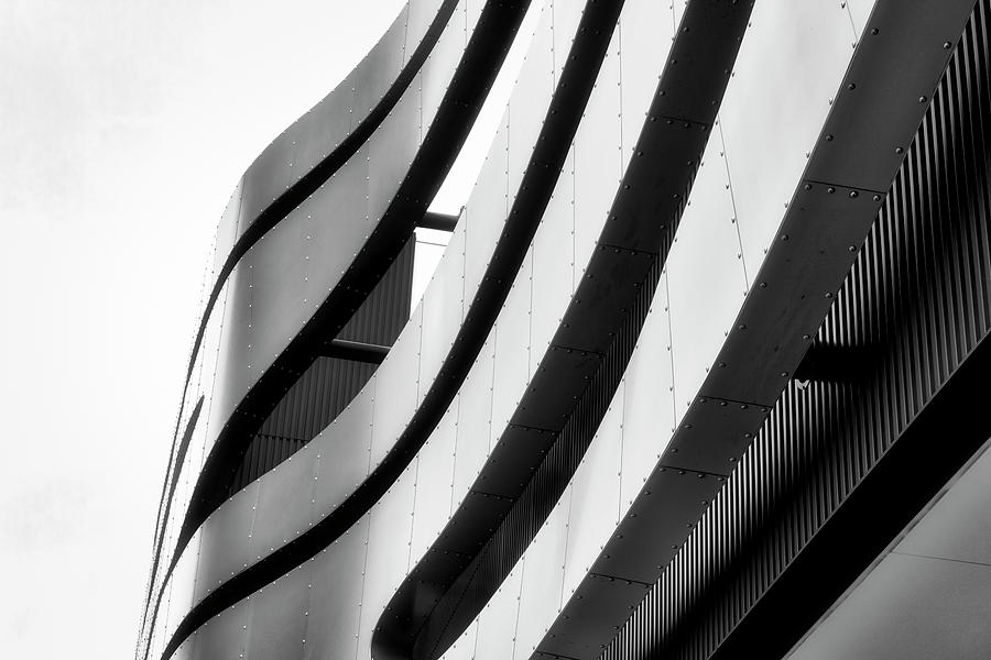 Architectural Flow 11 by Mark David Gerson