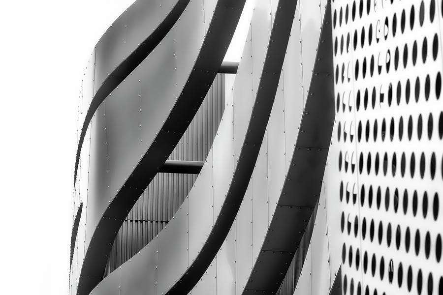 Architectural Flow 12 by Mark David Gerson