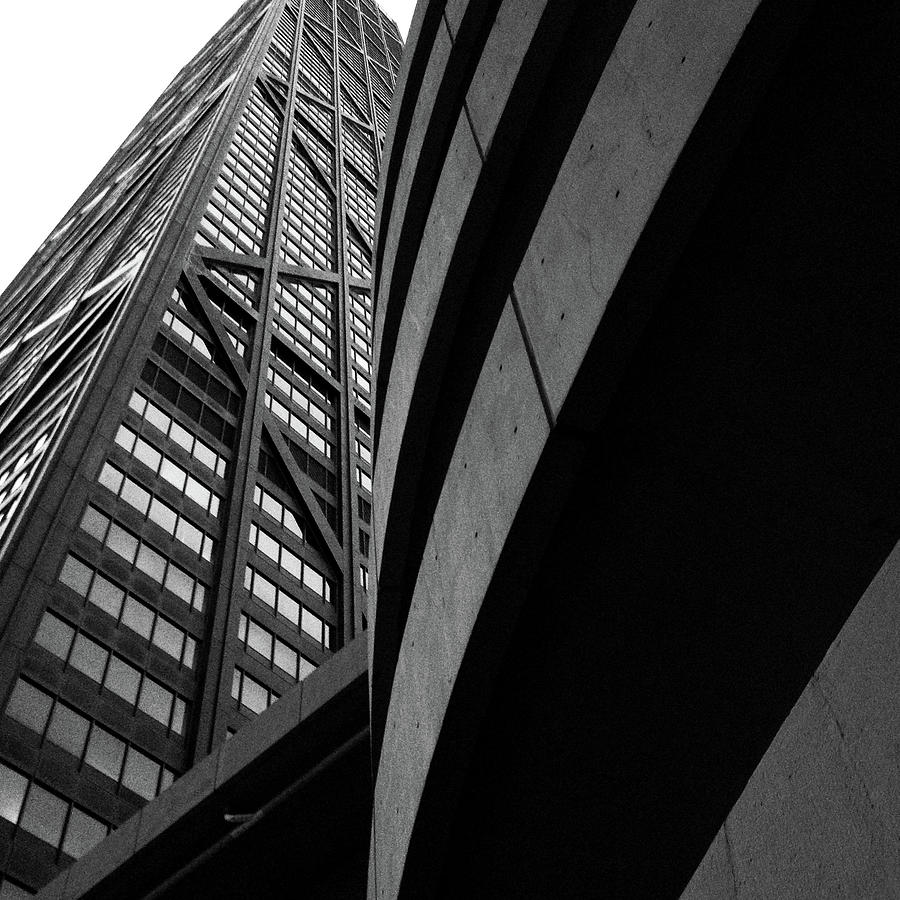 Architectural Lines Hancock Building by Patrick Malon