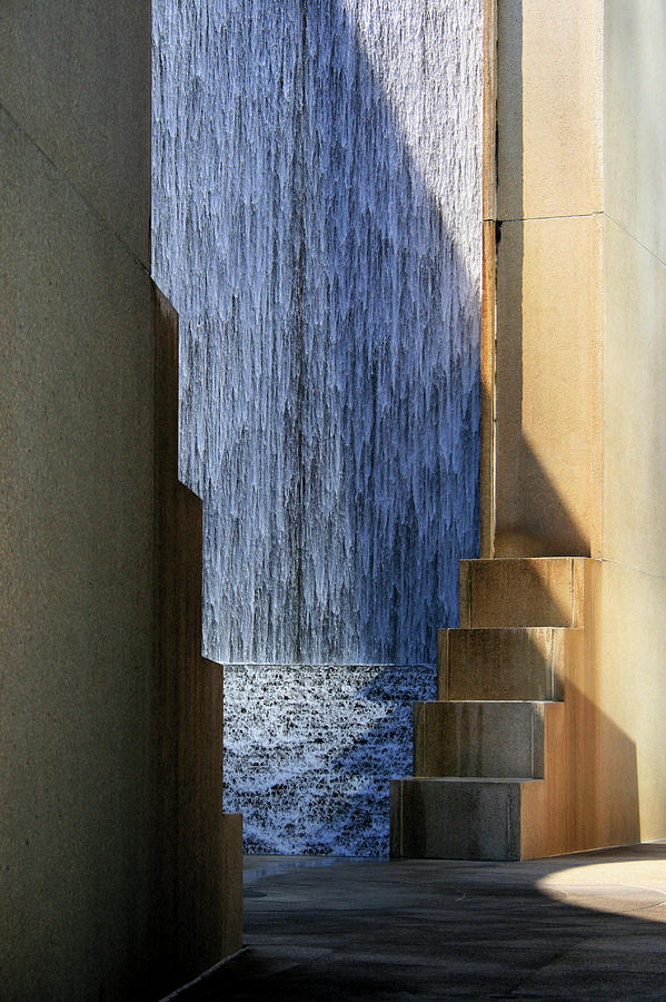 Architectural Waterfall by Angela Rath