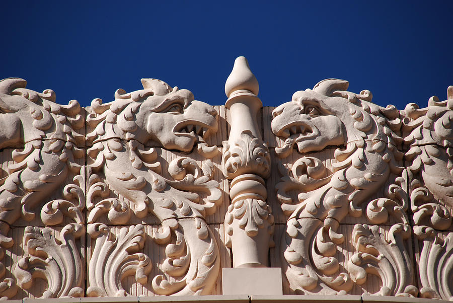 Nm Photograph - Architecture At The Lensic Theater In Santa Fe by Susanne Van Hulst