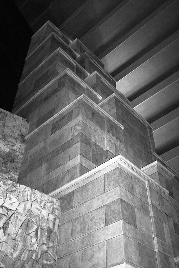 Las Vegas Photograph - Architecture Detail by Viktor Savchenko