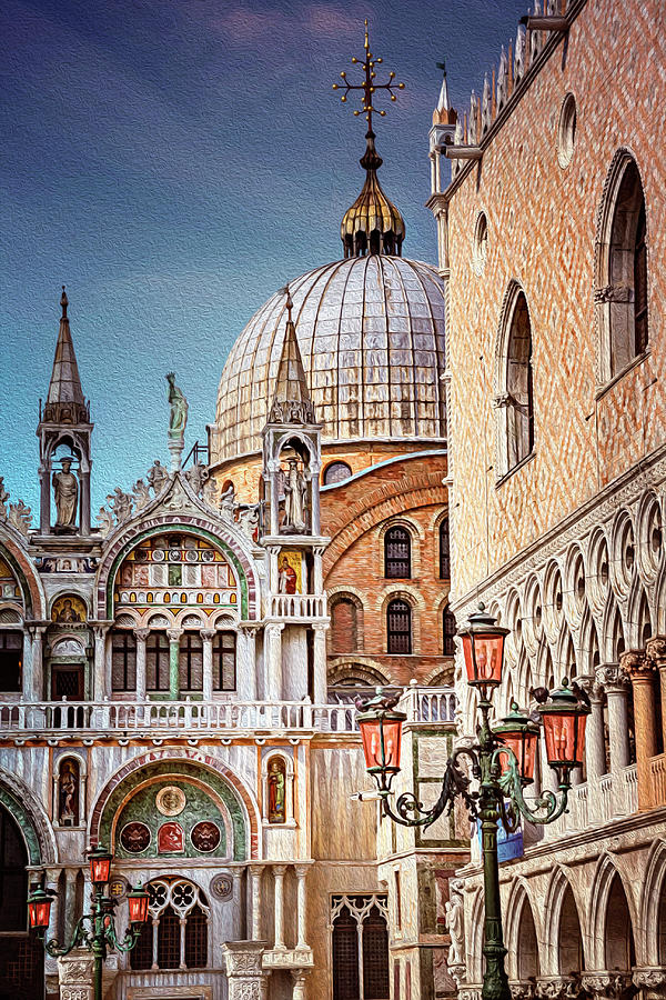 Architecture Of St Marks Square Venice Italy Photograph