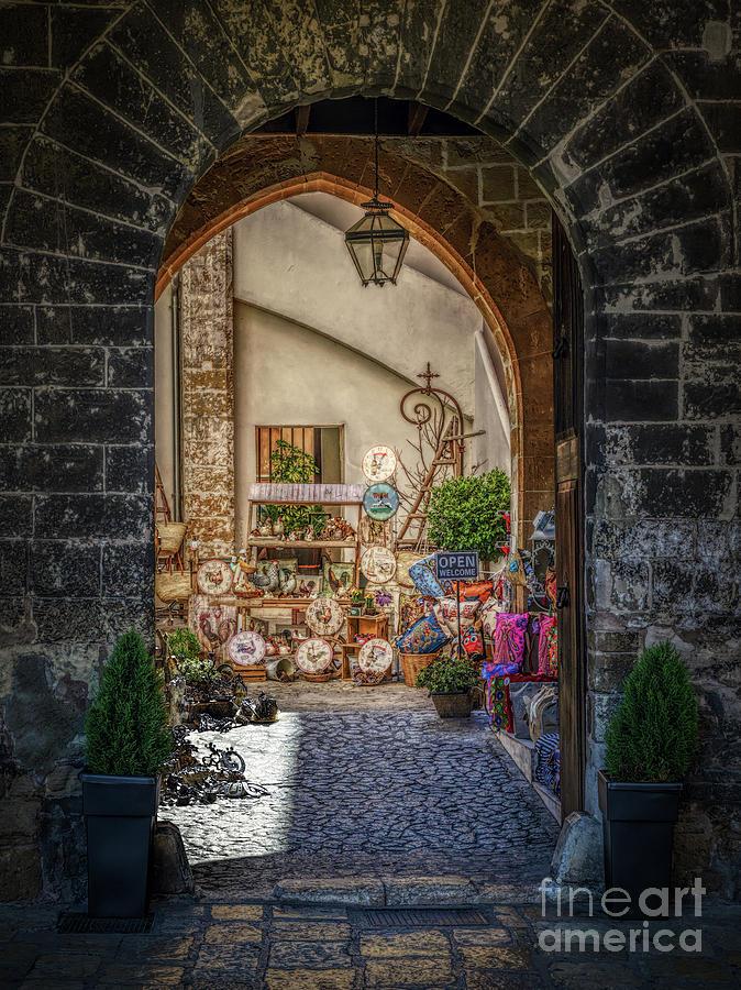 Archway Palma De Mallorca Photograph
