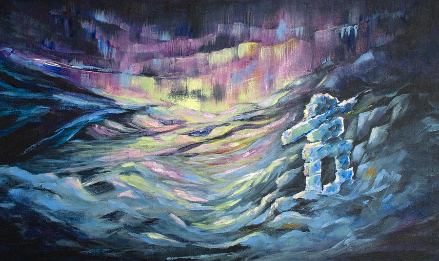 Artic Painting - Arctic Experience by Joanne Smoley