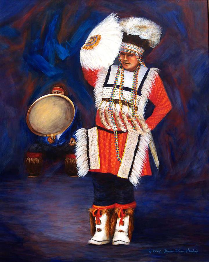 Alaska Painting - Arctic Rhythms by Dianne Roberson