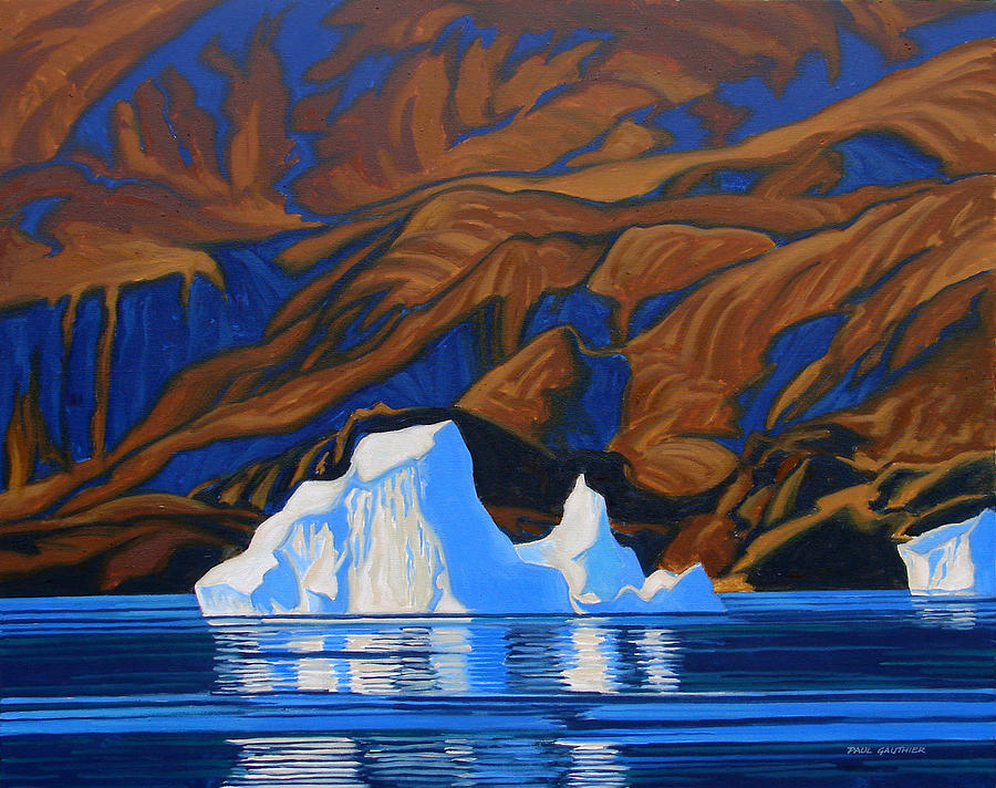 Arctic Tapestry Painting by Paul Gauthier