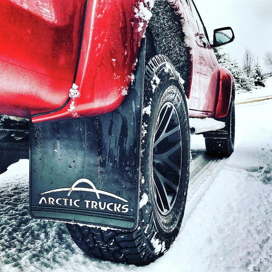 Iceland Photograph - Arctic Trucks by Carlton Boyce