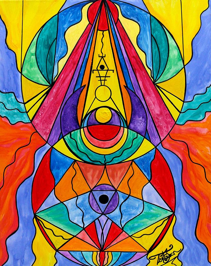 Arcturian Insight Grid  by Teal Eye Print Store