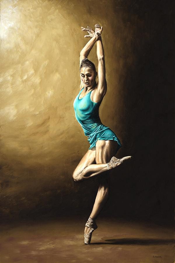 Dance Painting - Ardent Dancer by Richard Young