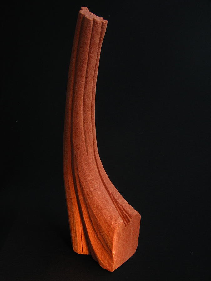 Carved Stone Sculpture Sculpture - Ardor - Body Series by Todd Malenke