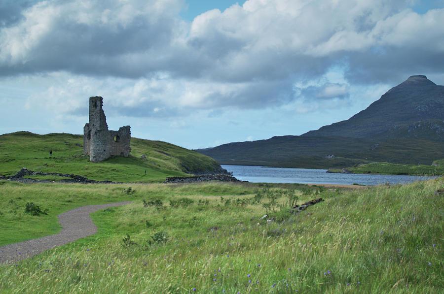 Castle Photograph - Ardvreck Castle by Steve Watson