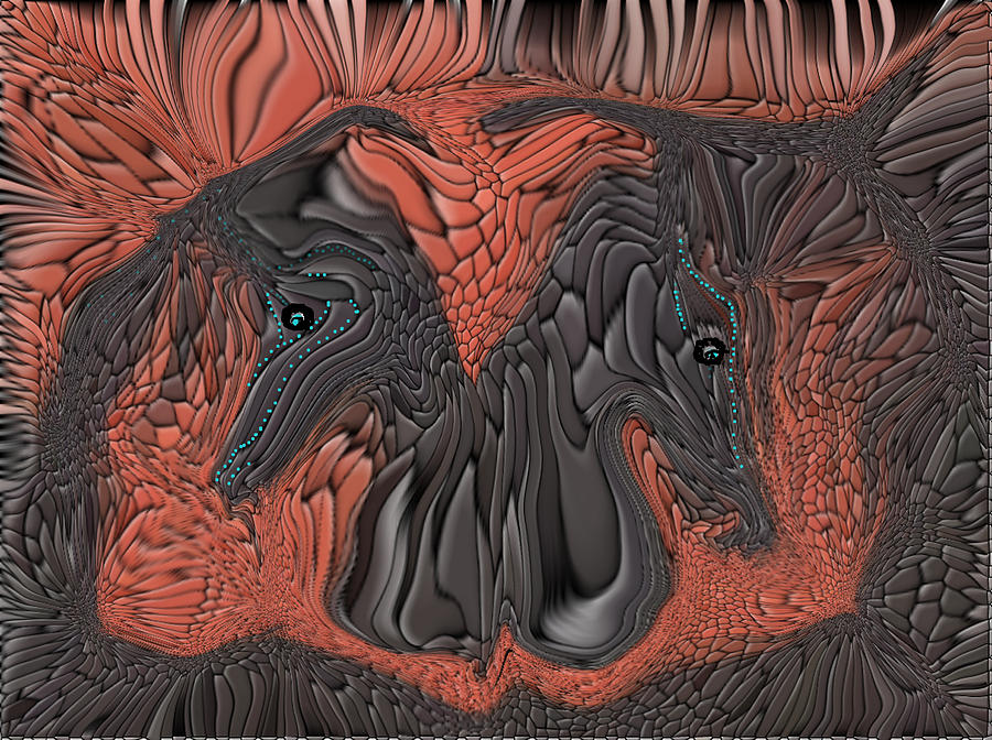 Horses Digital Art - Are You Ready      Showtime by Sherris - Of Palm Springs